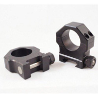 "Buckeye Tactical 1""-Rings BT614002 Matte Black Medium"
