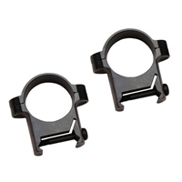 "Burris 1"" ZEE Rings Standard Matte Black Medium BU-420084"