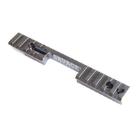 DIP DP-13013 Savage MK1 MK2 93 Picatinny Adapter Rail Left Handed 0 MOA
