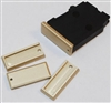 DIP DP-19055-Gold Aluminum Floorplate for Steel Magazine