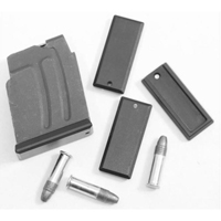 DIP DP-19056-blk Aluminum Floorplate for Polymer Magazine