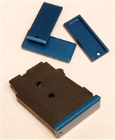 DIP DP-19056-blu Aluminum Floorplate for Polymer Magazine