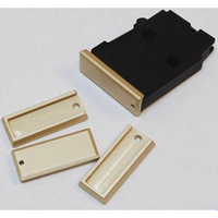 DIP DP-19056-gld Aluminum Floorplate for Polymer Magazine