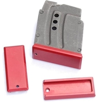 DIP DP-19056-red Aluminum Floorplate for Polymer Magazine