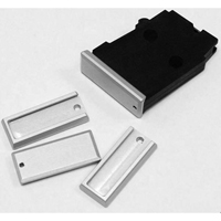 DIP DP-19056-slv Aluminum Floorplate for Polymer Magazine