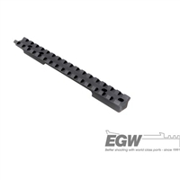 EGW Savage Flat Back Medium Action Matte Black EG-41300--- 0 MOA
