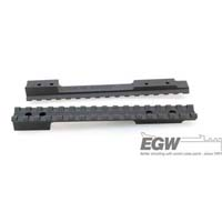 EGW -Mauser 98- Large Ring Undrilled Matte Black EG-47010--- 0 MOA