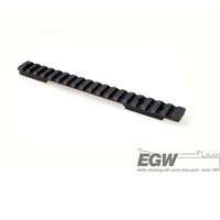 EGW Savage Round Back Long Action Picatinny Matte Black EG-80332--- 20 MOA