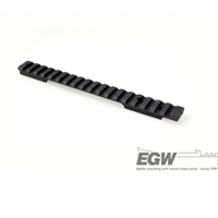 EGW Savage Flat Back Long Action Picatinny Matte Black EG-80335, 0 MOA