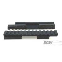 EGW CZ-452, 453, 455, 457, 511, 512 11mm Picatinny Rail Matte Black EG-80910--- 0 MOA