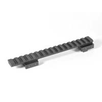 EGW CZ-550 Standard Action 19mm Picatinny Rail Matte Black EG-80914--- 0 MOA