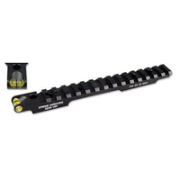 Savage Round Rear Long Action Rail, 0 MOA, Tru-Level, Xtreme Hardcore, HC-91024