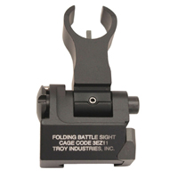 Troy Ind-- --AR-15-- Front Sight HK Style Folding