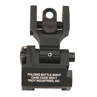 Troy Ind-- --AR-15-- Rear Sight Round Peep Folding