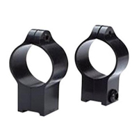 "Anschutz 54 & 64, Permanent 1"" High Matte Black, Talley Mod #22TRH"