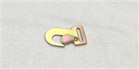 "2"" Flat Snap Hook for Tie Down Straps"