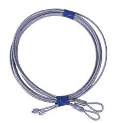 Replacement Garage Door Cable Set for 8' High Torsion Spring Doors