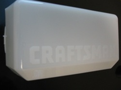 Sears Craftsman Liftmaster GDO Lens Cover 108D46, (K108D0058-2)