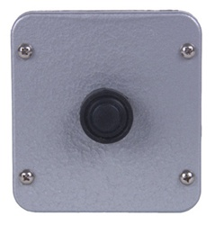 1BX Single Button Metal Exterior Control Station
