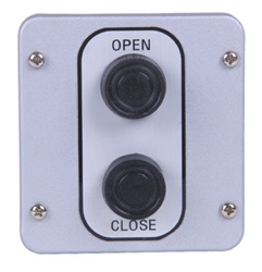 2BX 2 Button Metal Exterior Control Station