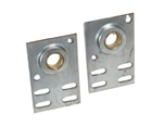 "3 3/8"" Residential Flat Garage Door End Bearing Bracket"
