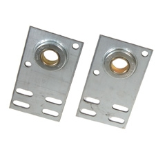 "4 3/8"" Residential Flat Garage Door End Bearing Bracket"