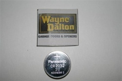 Wayne Dalton 3 button transmitter batteries