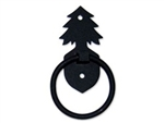 Carriage House Garage Door Decorative Conifer  Door knocker