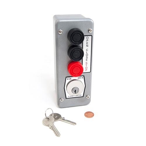 Commercial Garage Door Opener KEYED CONTROL Tamper Proof