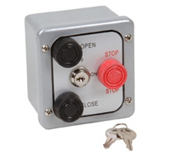 3BXL 3 Button Metal Exterior Keyed Lockout Control Station