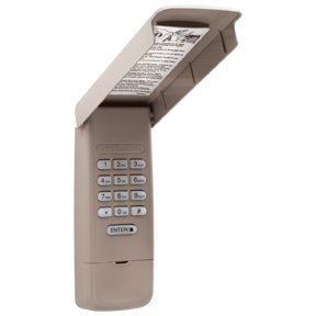 877MAX LiftMaster Wireless Remote Control Keypad (315MHz U0026 390MHz)