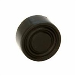 Black Rubber Push Button for Control Stations