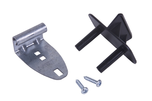 Universal Replacement Black Step Plate Kit For 1 3 8 To 2