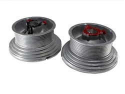 Garage door cable drum set 400-54