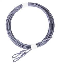 Replacement Garage Door Extension Cable Set for up to 8' High Doors