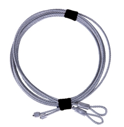 Replacement Garage Door cable set for 8' high torsion spring overhead doors