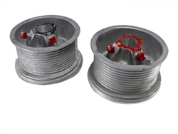 Garage door cable drum set 400-12