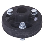 Garage Door Replacement Torsion Shaft Center Coupling, 1""