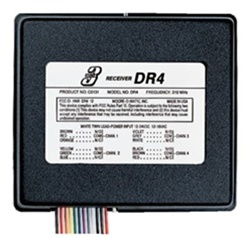 Linear DR-4 Four Channel 12 Volt Receiver DNR00057