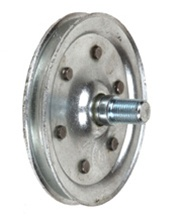 Sheave Pulley with Stud 4""