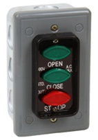 LCE-3 Flush Mount 3 Button Interior Control Station