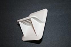 Wayne Dalton Replacement White Step Plate Lift Handle
