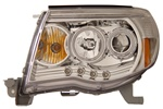 2005-2008 Toyota Tacoma Headlights, Chrome, by AnzoUSA