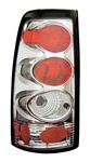 99-02 Silverado Tail Lamps, Chrome, by AnzoUSA