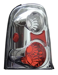 01-04 Ford Escape Tail Lamps, Chrome, by AnzoUSA