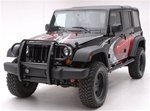 07-08 Wrangler Front Brush Guard by Aries