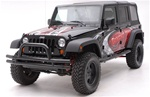 07-08 Wrangler Front Bumper by Aries