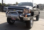 2007-10 SILVERADO HD 2500/3500 Bull Bar - by Aries