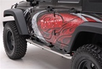 07-08 Wrangler Side Bars by Aries