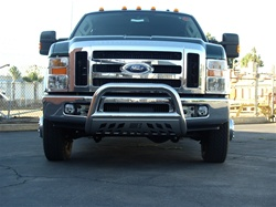 08 Superduty Bull Bar by Aries